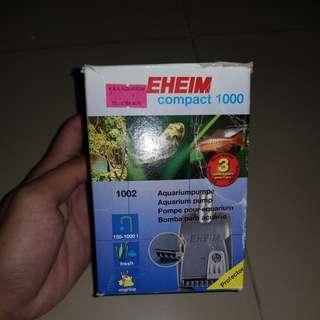 Eheim compact 100 pump