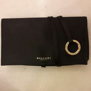 Authentic Luxury BVLGARI dinner clutch new
