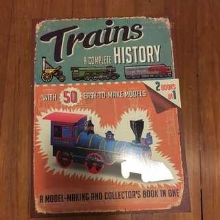 Train Paper Model Book