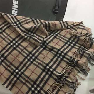 Burberry wool cape