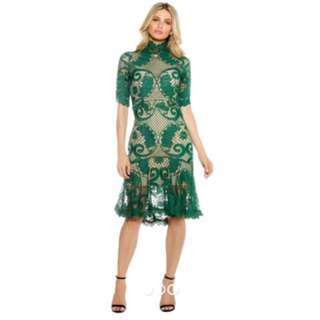 Thurley Babylon dress emerald size 8