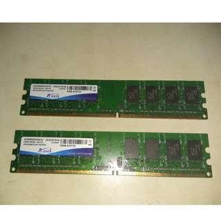 台機 DDR2-800 RAM 2條2GB, 4條1GB