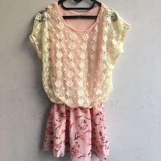 Brokat blouse