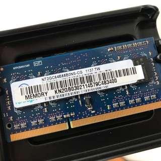 Nanya 2GB DDR3 1333 Notebook Ram