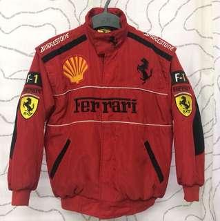 Ferrari F1 Bomber Jacket