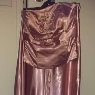 Custom made bride's maid dress size xs