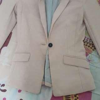 H&M pink Blazer