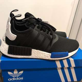 Selling Adidas rNMD R1 Toyko Black / blue tab  Size US5.5 ($280) DS