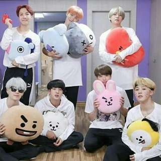 [LOOSE] BTS BT21 CUSHION