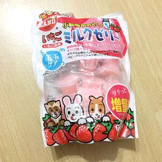 Strawberry milk jelly