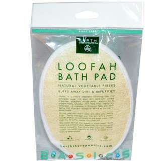 INSTOCK! Earth Therapeutics, Loofah Bath Pad, 1 Pad