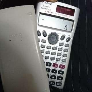 Casio Fx3650p 計數機