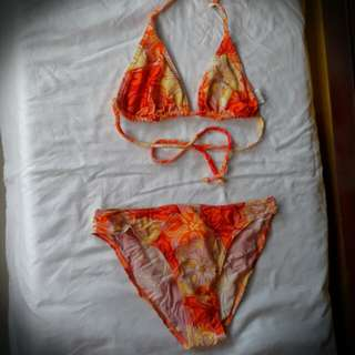 PRELOVED TWO-PIECE BIKIN (buy 3 sets for only Php280)