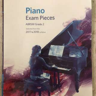 ABRSM Piano grade 2 Exam Pieces 2017-2018