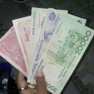 Uang kertas kuno take all 600k