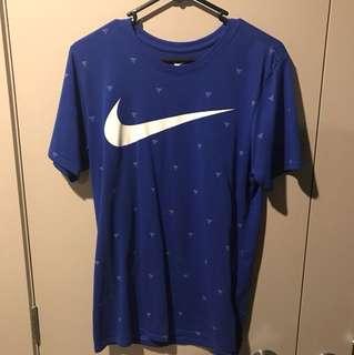 Blue Nike t shirt