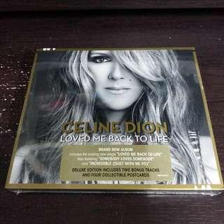 CELINE DION Loved Me Back To Life 港版 Deluxe CD 全新未拆 15曲