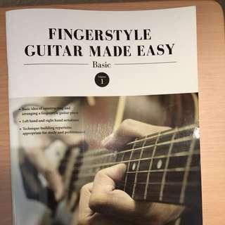 Finger style guitar made easy volume 1