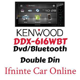 KENWOOD DDX-616WBT Doble Din