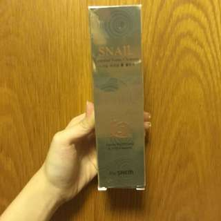 The Saem Snail essential foam cleaner