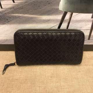 Bottega Veneta Leather Long Wallet