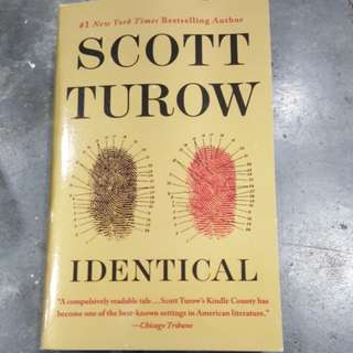 Identical by Scott Turow (#1 NewYork Times bestselling Author)