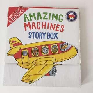 Amazing Machines set of 5 books