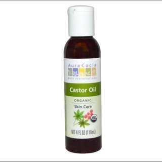 Aura Cacia 100% Organic Castor Oil
