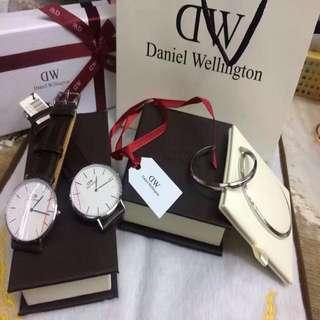 Daniel Wellington Couple's Watches with Bangle