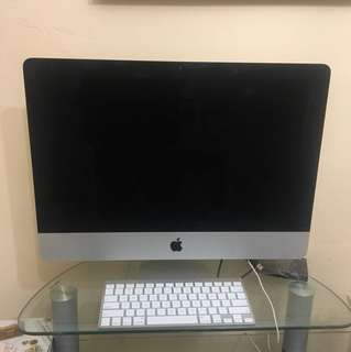 Bought this iMac 4 years ago, still have the receipt, extremely good condition, never been brought out of the house. Just no mouse and box.