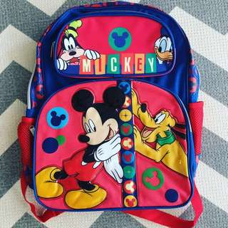 New Toddler Mickey Mouse Bag