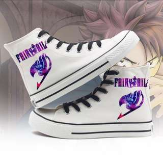 #70 | Fairy Tail Canvas Sneakers