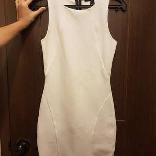 Forever 21 - Fitted white dress