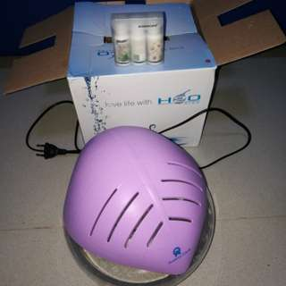 AIR PURIFIER HUMIDIFIER & REVITALIZER with LED Light