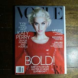 Katy Perry | Vogue Magazine May 2017