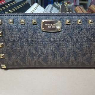 b55f1f82beb2a4 Christmas Sale! MK Studded Long Wallet-Monogram Brown