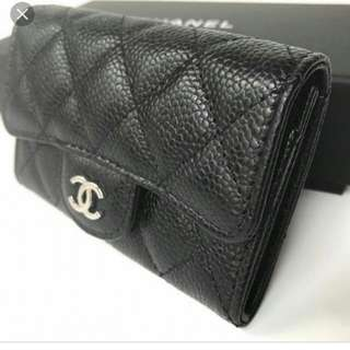 Chanel authentic card holder 正品籃球紋卡片套