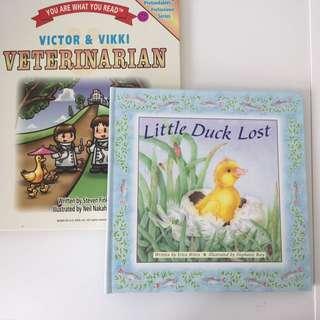Little Duck Lost & Victor and Vikki Veterinarians