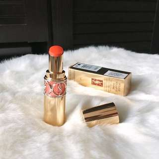 YSL Rouge Volupte Shine in Coral