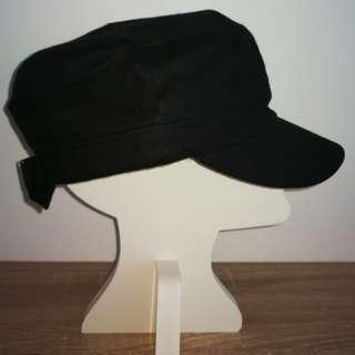 Black Army Hat