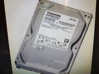 Toshiba 1TB 3.5 inch 7200RPM Hard Disk Drive