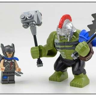Lego 76088 minifigs