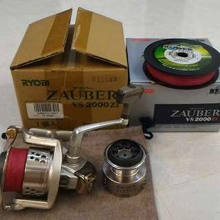 Ryobi Zauber VS2000 Made In Japan Fishing Reel