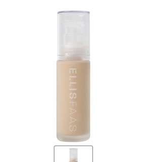 Ellis Faas skin veil foundation 103.5 full size fair medium yellow base