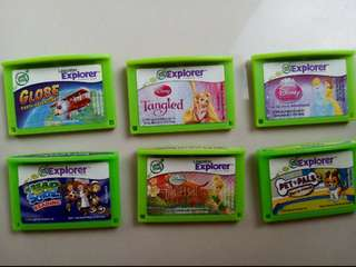 Leafrog LeapPad/Leapster Cartridges
