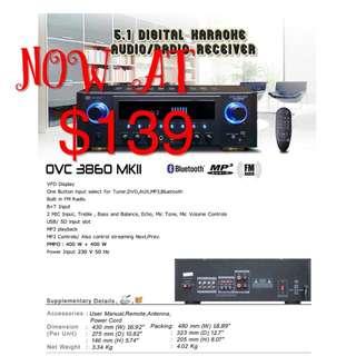 Martin Roland karaoke amplified OVM-3860MKII
