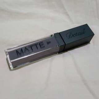 Detail in Matte Liquid Lipstick - D23 Monika