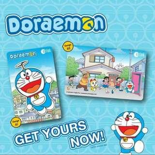 **Limited Edition** Doraemon Ezlink Cards (Set of 02 cards)