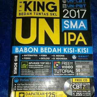 buku ujian nasional (The King)