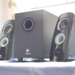 Logitech Z323喇叭(2.1連低音音箱)